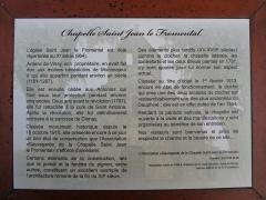 Chapelle du cimetière de Saint-Jean-le-Fromental - Chapelle du cimetière de Saint-Jean-le-Fromental PA00117174 VAN DEN HENDE ALAIN CC-BY-SA-40 03076