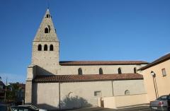 Eglise Saint-Pierre - Français:   Moirans (Isère) - Ancienne église Saint-Pierre.