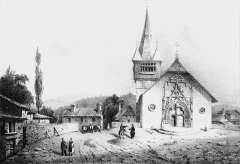 Eglise Saint-Georges - French painter, illustrator, photographer and lithographer