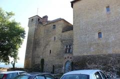 Château de Montplaisant - Français:   Château de Montplaisant à Saint-Hilaire-de-Brens.