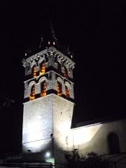 Eglise - English: Clocher et Eglise St Marcellin by night 38160 PA00117259 VAN_DEN_HENDE_ALAIN CC-BY-SA-40 P09nx