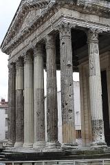 Temple d'Auguste et de Livie - English: Vienne, temple d'Auguste et de Livie.