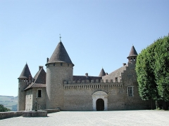 Château de Virieu - This building is indexed in the Base Mérimée, a database of architectural heritage maintained by the French Ministry of Culture, under the reference PA00117355 .