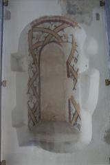 Couvent des Cordeliers (vestiges de l'ancien) - Français:   Moirans (Isère) - Fresque de  l\'ancien couvent des Cordeliers.