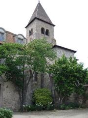 Eglise Saint-Julien - English: Pommiers, l'église Saint-Julien