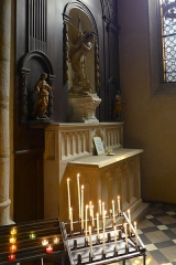 Grand'Eglise ou Eglise Saint-Etienne - Chapelle dédiée à saint michel au sein de l'église Saint Laurent et Saint-Etienne dite