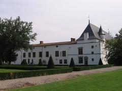 Château de la Bastie-d'Urfé - Français:   Château de la Bastie-d\'Urfé, vue des jardins