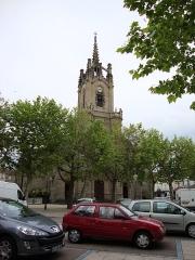 Eglise paroissiale Notre-Dame - English: Feurs (Loire, Fr), église, sa tour