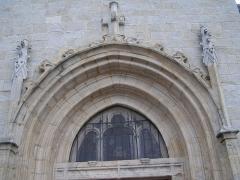Eglise paroissiale Saint-Cyr - Français:   Église Saint-Cyr de Marcilly-le-Châtel,  (Inscrit, 1991)
