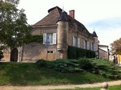 Château de Foudras - Français:   Vue depuis l\'Église de Charly