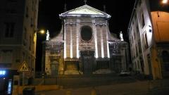 Eglise Saint-Just - Français:   Église Saint-Just de Lyon (rue des Farges, F-69005).
