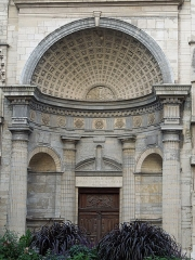 Eglise Saint-Nizier - This building is indexed in the Base Mérimée, a database of architectural heritage maintained by the French Ministry of Culture,under the reference PA00117801 .