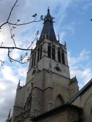 Eglise Saint-Paul - English: Bell tower of the church of Saint Paul (F-69005, Lyon)