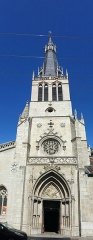 Eglise Saint-Paul - This building is indexed in the Base Mérimée, a database of architectural heritage maintained by the French Ministry of Culture,under the reference PA00117802 .
