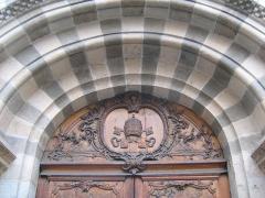 Eglise Saint-Pierre-des-Terreaux - Français:   Porche de l\'église Saint-Pierre des Terreaux à Lyon