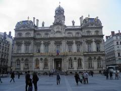 Hôtel de ville - Hôtel de ville de Lyon (Rhône, France).