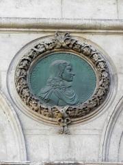 Hôtel de ville - Français:   Hôtel-de-Ville de Lyon (69001). Médaillon. Louis XIV.