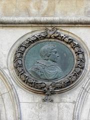 Hôtel de ville - Français:   Hôtel-de-Ville de Lyon (69001). Médaillon. Louis XIII.