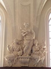 Palais Saint-Pierre ou ancienne abbaye des Dames de Saint-Pierre - Français:   La tempérance. Statue du réfectoire du Palais Saint-Pierre de Lyon (69).