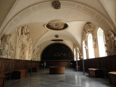 Palais Saint-Pierre ou ancienne abbaye des Dames de Saint-Pierre - Français:   Vue générale vers l\'est du réfectoire du Palais Saint-Pierre de Lyon (69).