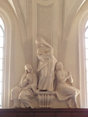 Palais Saint-Pierre ou ancienne abbaye des Dames de Saint-Pierre - Français:   La pénitence. Sculpture du réfectoire du Palais Saint-Pierre de Lyon (69).