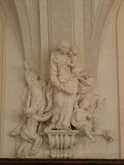 Palais Saint-Pierre ou ancienne abbaye des Dames de Saint-Pierre - Français:   La Charité. Sculpture du réfectoire du Palais Saint-Pierre de Lyon (69).