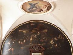 Palais Saint-Pierre ou ancienne abbaye des Dames de Saint-Pierre - Français:   Louis Cretey. La multiplication des pains. Peinture du mur ouest du réfectoire du Palais Saint-Pierre de Lyon (69).