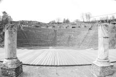 Site archéologique de Fourvière - Français:   Théâtre antique gallo-romain