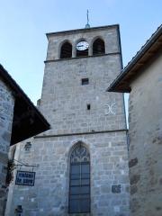 Eglise - Français:   Clocher, église de Saint-Pierre, Mornant, Rhône, France
