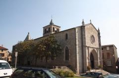 Eglise - Français:   Église Saint-Pierre de Mornant.