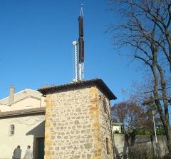 Tour du télégraphe - Français:   Tour du télégraphe, Montée de la Chapelle (Inscrit, 1987)