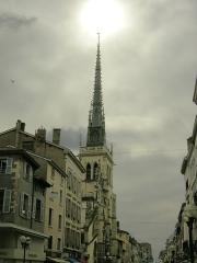 Eglise Notre-Dame-des-Marais - Français:   Clocher de l\'église notre-Dame-des-Marais de Villefranche-sur-Saône.