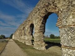 Aqueduc dit du Plat de l'Air -  Aqueduc du Gier à Chaponost