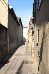 Aqueduc dit du chemin de Narcel - Français:   Piles de l\'Aqueduc du Gier du Chemin de Narcel.