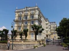 Ancien Hôtel Splendide ou Palace Splendide - English: Sight of Hôtel Splendide (or Palace Splendide), in Aix-les-Bains, Savoie, France.