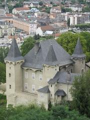 Château de Manuel à Conflans - English: The castle Manuel de Locatel in Conflans (Savoie), France