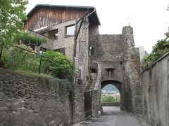 Porte Tarine à Conflans - English: Inner view of the Tarine's Gate in Conflans (Savoie), France