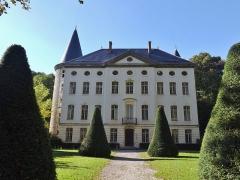 Centre hospitalier specialisé - English: Sight of the château de Bressieux castle, in Bassens near Chambéry in Savoie, France.