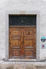 Archevêché -  Porte d'entrée du Musée Savoisien.