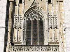Cathédrale Saint-François de Sales - English: Sight of architecture details on the facade of Saint-François de Sales cathedral, in Chambéry, Savoie, France.