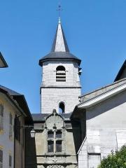 Cathédrale Saint-François de Sales - English: Sight of the south-western side of the Saint-François-de-Sales cathedral of Chambéry, Savoie, France.