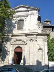 Lycée de garçons - English: Picture of Lycée Vaugelas chapel, in Chambéry, Savoie, France.