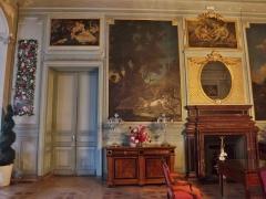 Château de Buisson Rond - English: Inside sight of the château de Buisson-Rond castle, in Chambéry, Savoie, France.