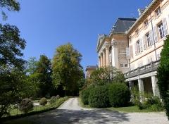 Château des Ducs de Savoie - English: Sight of the gardens of Chambéry's castle, in Savoie, France.