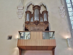 Château des Ducs de Savoie - English: Sight of the pipe organ of the Sainte-Chapelle chapel of Chambéry in Savoie, France.