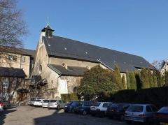 Eglise de Lemenc - English: Sight of the Saint-Pierre-de-Lemenc church, in Chambéry, Savoie, France.