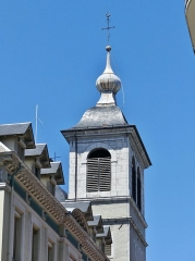 Eglise Notre-Dame - English: Sight of the bell tower of Notre-Dame de Chambéry church, in Chambéry, Savoie, France.