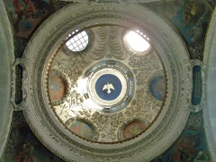 Eglise Notre-Dame - English: Sight inside dome of Notre-Dame de Chambéry church, in Chambéry, Savoie, France.