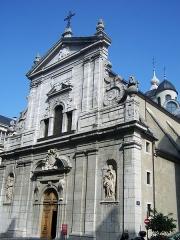 Eglise Notre-Dame - English: Sight église Notre-Dame de Chambéry church, in Chambéry, Savoie, France.