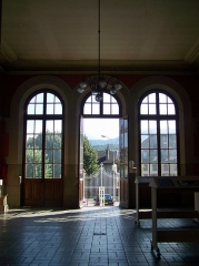 Hôtel-Dieu - English: Sight inside the Hôtel-Dieu hospital building, in Chambéry, Savoie, France.